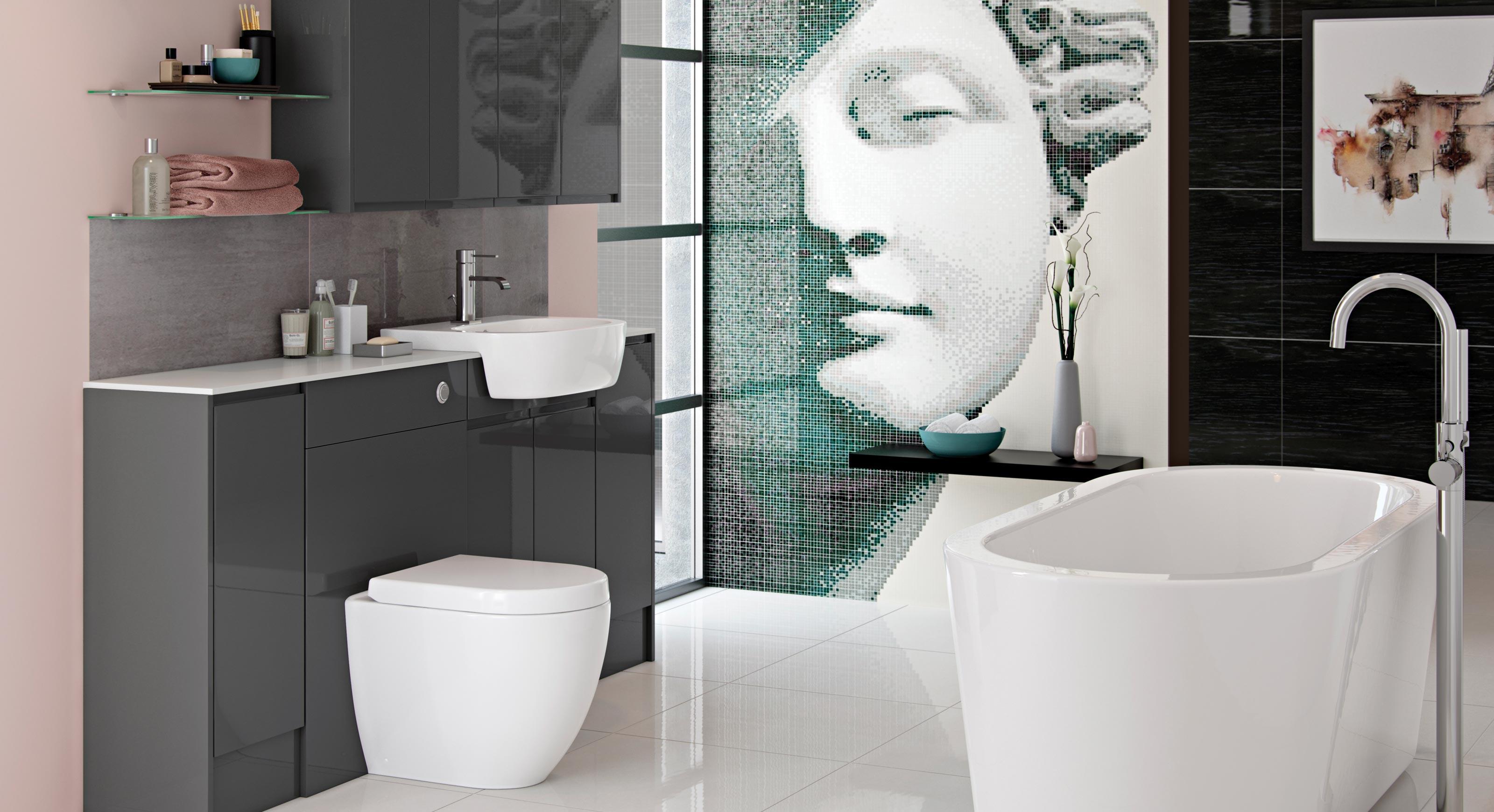 bathrooms to love fresco contemporary