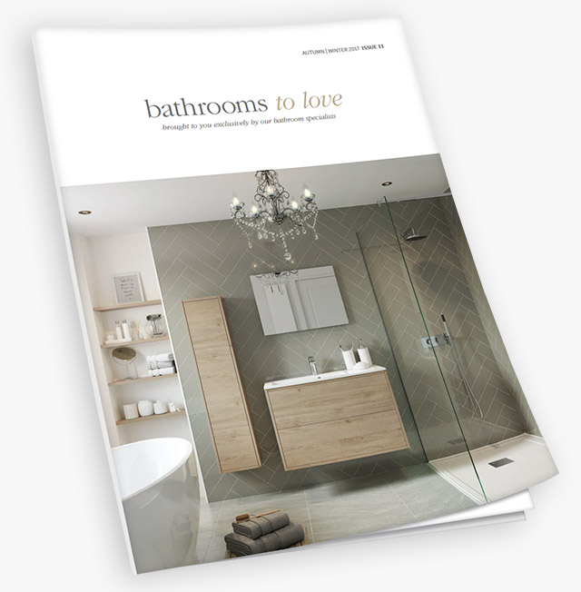 The bathrooms to love brochure