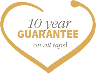 10 year guarantee on all taps
